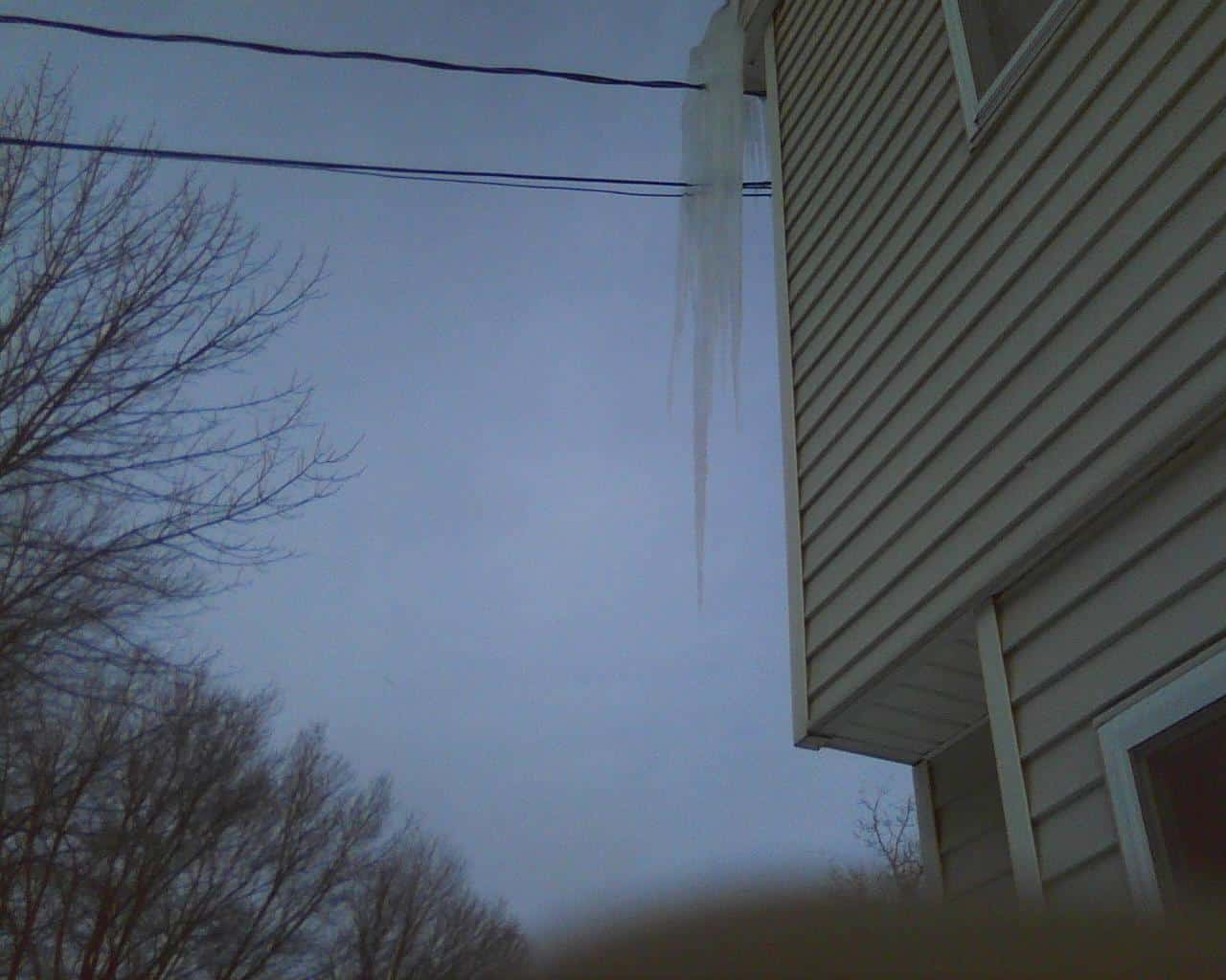 Ice Dams in Connecticut
