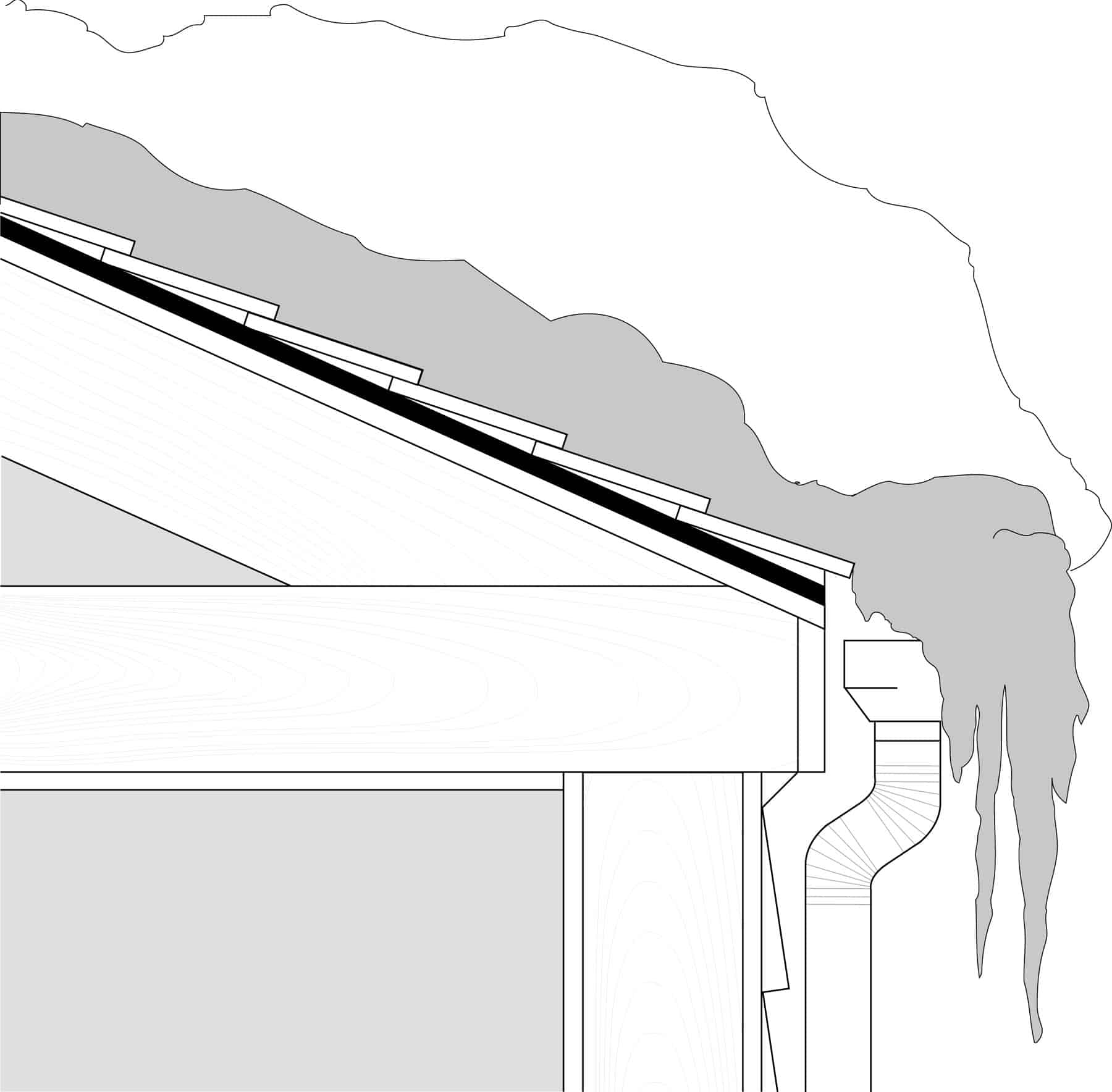 Connecticut Ice Dams, Leaks And Why They Form