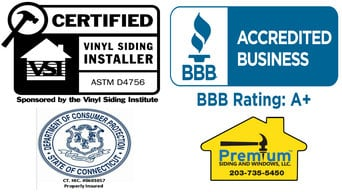 Certified Vinyl Siding Installers CT