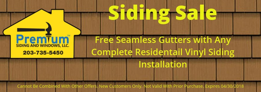 July 2017 Vinyl Siding Coupon CT
